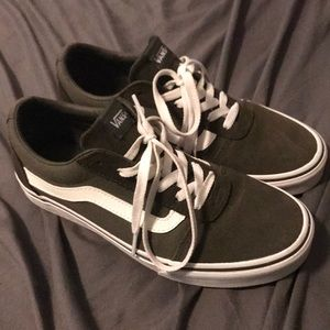 Womens Olive Green VANS sneakers